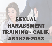 Sexual Harassment - California