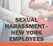 Sexual Harassment - NY - Employees